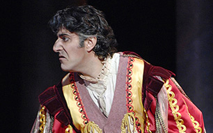 Constantinos Yiannoudes as Rigoletto